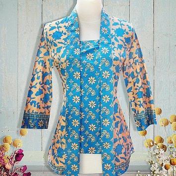 Batik Fashion Ideas poster