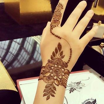 Beautiful Henna Design poster