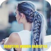 Beautiful Women Hairstyle icon