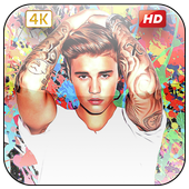 Justin Bieber Wallpapers 4k icon