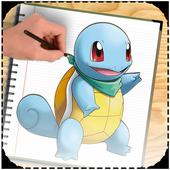 learn to draw pokemon Easy icon