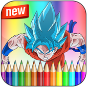 How To Color Dragon DB Super icon