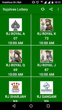 Rajshree Lottery poster