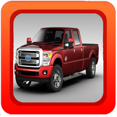 Off Road Truck Parking Game 3D icon