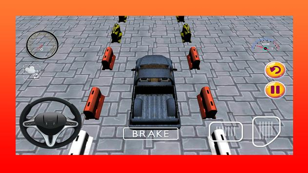 Off Road Truck Parking Game 3D apk screenshot