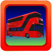 Bus Parking Simulator Game 3D icon
