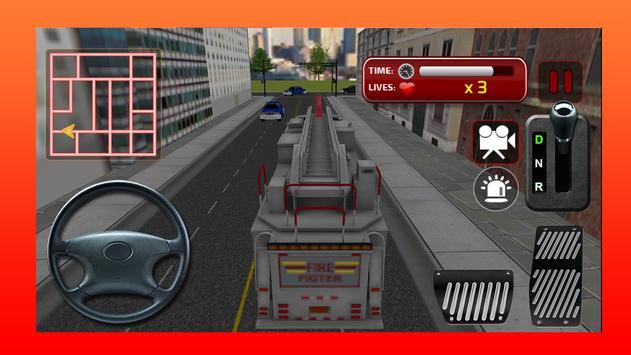 Fire Rescue 911 Simulator 3D apk screenshot
