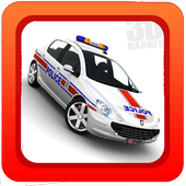 Police Car Driving Game 3D icon
