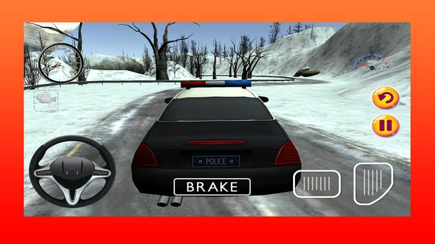 Police Car Driving Game 3D poster