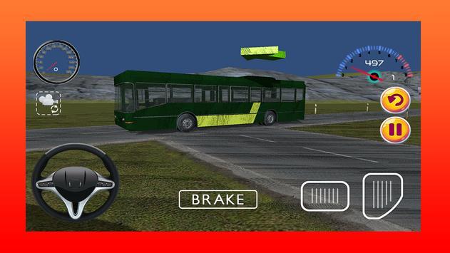 School Bus Driving Simulator poster