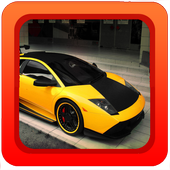 Snow Car Driving Game 3D icon