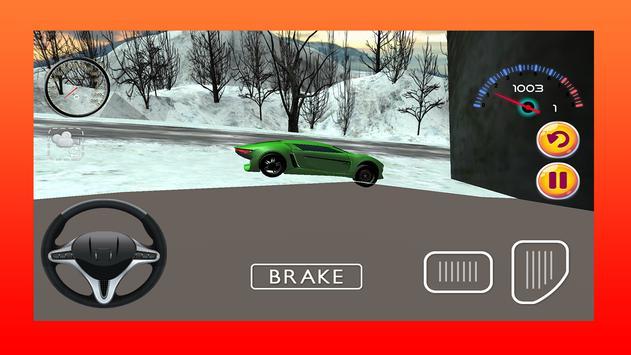 Snow Sports Car Driving Game apk screenshot