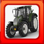 Tractor Concrete Excavator Op icon