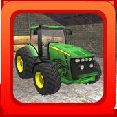 Tractor Farming Simulator 3D icon