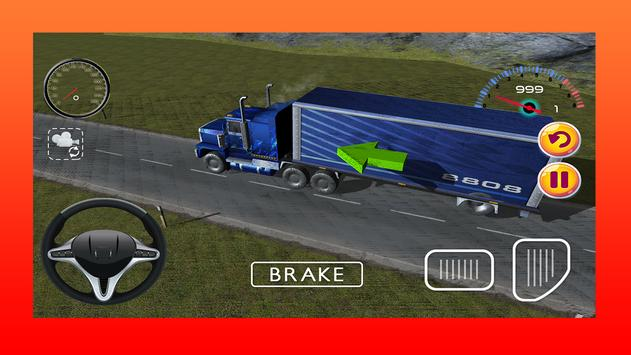 Truck Driving Game 3D apk screenshot