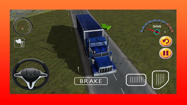 Truck Driving Game 3D screenshot 5