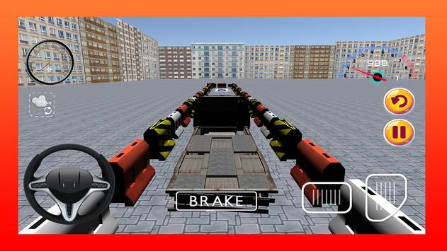 Truck Parking Simulator Game poster