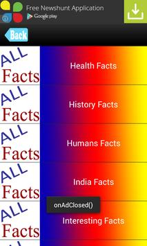 Interesting Facts / Top Facts poster