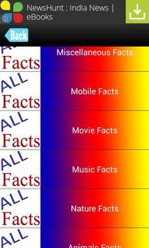Interesting Facts / Top Facts apk screenshot