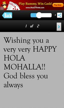 Holla Mohalla Messages Msgs apk screenshot