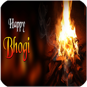 Happy Bhogi Messages SMS Msgs icon
