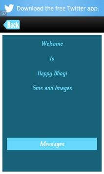 Happy Bhogi Messages SMS Msgs poster
