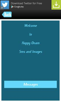 Happy Onam SMS Messages Msgs poster