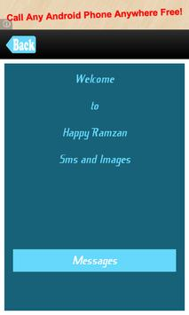 Happy Ramzan Messages SMS Msgs poster