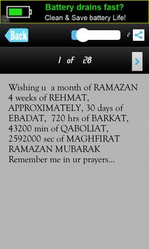 Happy Ramzan Messages SMS Msgs apk screenshot