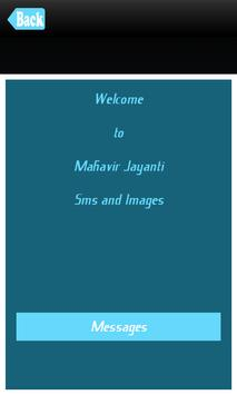 Mahavir Jayanti Messages SMS poster