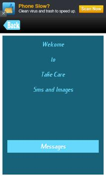 Take Care Messages SMS TC Msgs poster