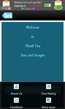 Thank You SMS Messages Msgs apk screenshot