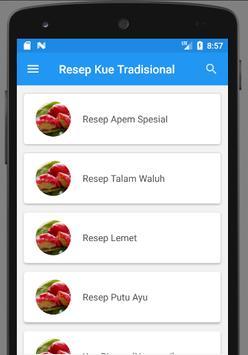 Resep Kue Tradisional Pilihan apk screenshot