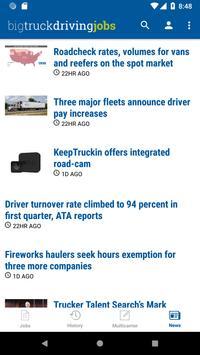 Big Truck Driving Jobs screenshot 4