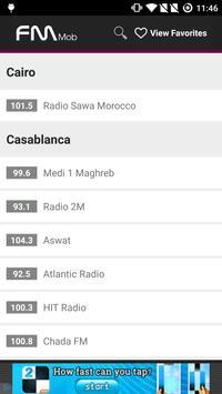 Radio Maroc - FM Mob screenshot 1