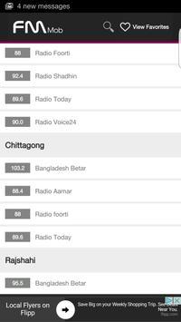 FM Bangla Radio HD - FM Mob screenshot 4