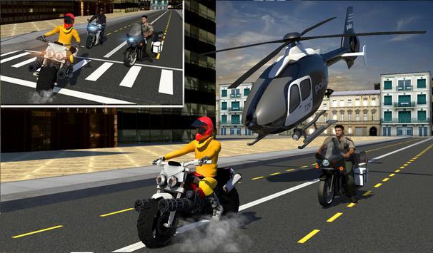 Bike Prison Break: City Police apk screenshot