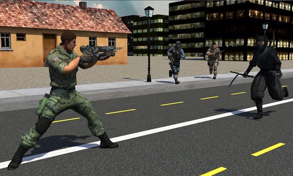 Black Ninja Assassin War screenshot 4