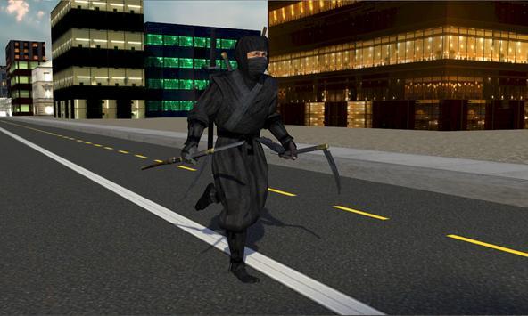 Black Ninja Assassin War poster