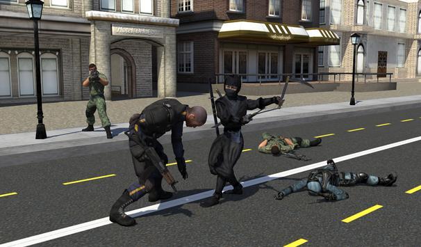 Black Ninja Assassin War screenshot 13