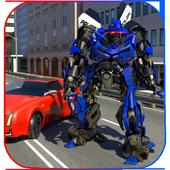 Futuristic Police Robot Runner icon