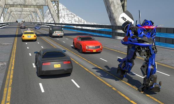 Futuristic Police Robot Runner screenshot 3