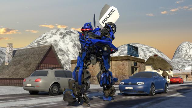 Futuristic Police Robot Runner screenshot 10