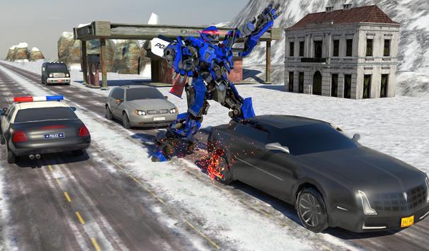 Futuristic Police Robot Runner screenshot 17