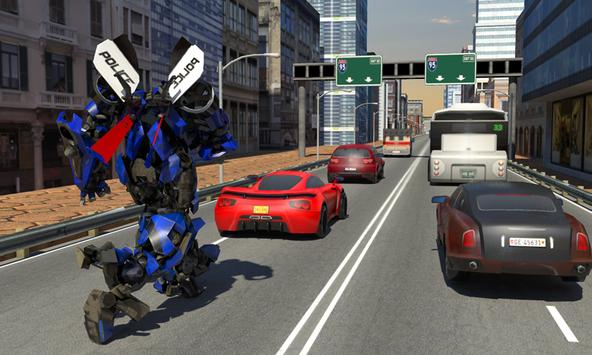 Futuristic Police Robot Runner screenshot 1