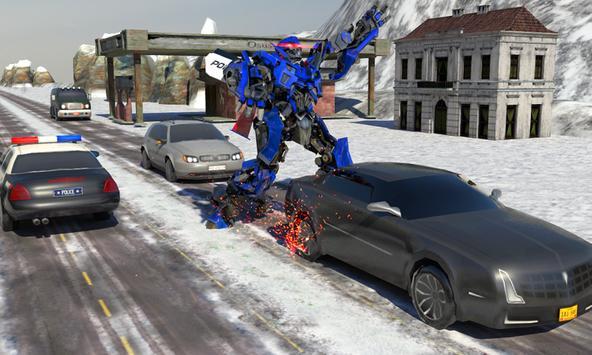 Futuristic Police Robot Runner screenshot 5