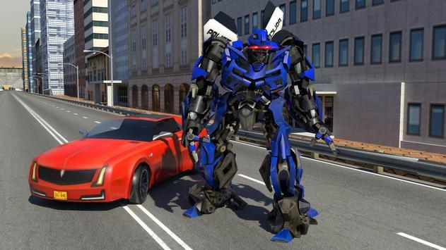 Futuristic Police Robot Runner screenshot 8