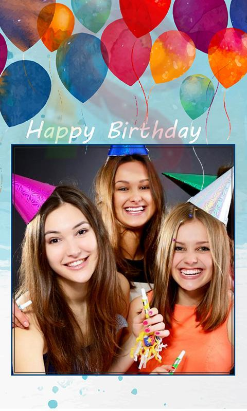 Happy Birthday Photo Frame for Android - APK Download