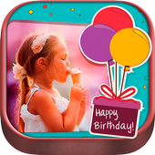 Happy Birthday Photo Frame Collage Art Editor 2019 icon