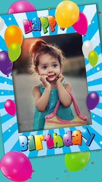 Happy Birthday Photo Frame Collage Art Editor 2019 poster